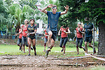 Participants compete during the Spartan Race Hong Kong on 22 April 2017 in , Hong Kong, China. Photo by Marcio Rodrigo Machado / Power Sport Images