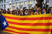"11.09.2014 - ""La Diada"", The National Day of Catalonia in London"