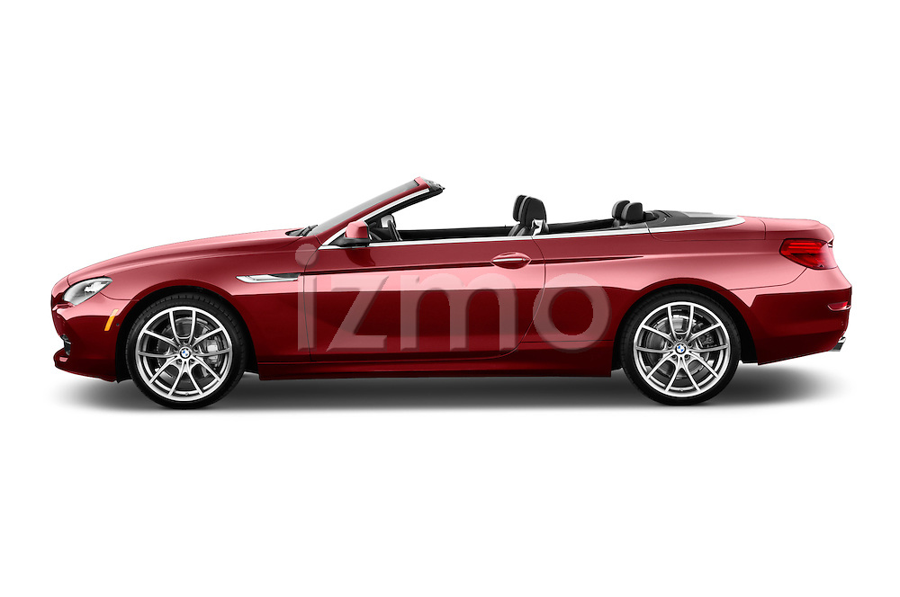 Driver side profile view of a 2014 BMW 6 Series Convertible 3A