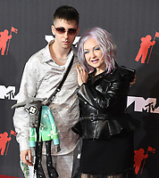 Declyn Lauper Thornton, Cyndi Lauper attends the 2021 MTV Video Music Awards at Barclays Center on September 12, 2021 in the Brooklyn borough of New York City.<br /> CAP/MPI/IS/JS<br /> ©JSIS/MPI/Capital Pictures