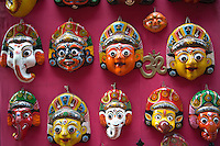 Decorative Masks for Sale in Bhaktapur
