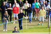 Anders Hansen (DEN) during round 2 of the 2015 BMW PGA Championship over the West Course at Wentworth, Virgina Water, London. 22/05/2015<br /> Picture Fran Caffrey, www.golffile.ie: