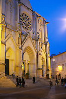 The Ste Anne cathedral. Montpellier. Languedoc. France. Europe.