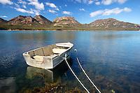 Dinghy at Coles Bay, Tasmania