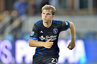 San Jose, CA - Monday July 10, 2017: Florian Jungwirth during a U.S. Open Cup quarterfinal match between the San Jose Earthquakes and the Los Angeles Galaxy at Avaya Stadium.