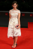Maria Clara Alonso attends the red carpet for the premiere of the movie 'El Clan' during the 72nd Venice Film Festival at the Palazzo Del Cinema in Venice, Italy, September 6, 2015.<br /> UPDATE IMAGES PRESS/Stephen Richie