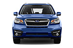 Car photography straight front view of a 2017 Subaru Forester Premium 5 Door SUV
