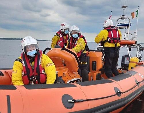 Lough Ree RNLI crew