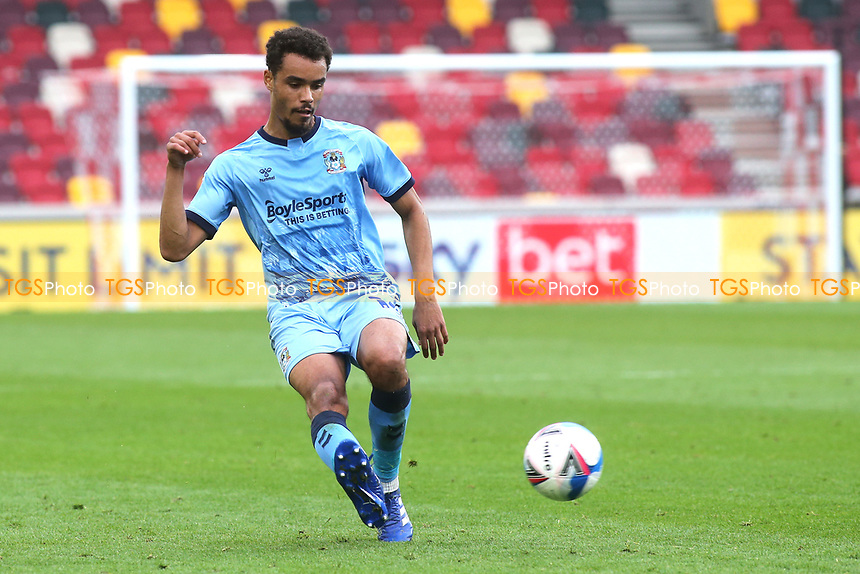 Josh Pask of Coventry City in action during Brentford vs Coventry City, Sky Bet EFL Championship Football at the Brentford Community Stadium on 17th October 2020