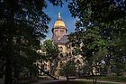 August 12, 2016; Main Building summer 2016 (Photo by Matt Cashore/University of Notre Dame)
