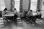 Woman prisoners UK 1980s. Womens prison lunch time 1986 England HM Prison Styal Wilmslow Cheshire UK 1980s.