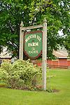 Mountain View Farm signage, Kishacoquillas Valley, PA.
