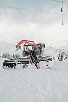 Luca Müller; Pistenbully Fahrer, Ski Station Airolo Pesciüm