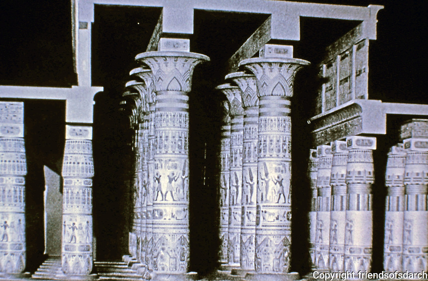 The Mortuary Temple of Ramesses III at Medinet Habu. West Bank of Luxor, Egypt. Inscribed relief on columns.