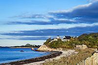 Nobska Beach, Woods Hole, Cape Cod, Massachusetts, USA