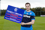 Jon Daly after the press conference promoting tickets for Monday night's game against Hibs