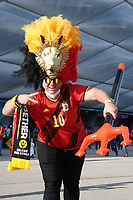 Belgische Fans in München<br /> - Muenchen 02.07.2021: Italien vs. Belgien, Viertelfinale, Allianz Arena Muenchen, Euro2020, emonline, emspor, Playoffs, Quarterfinals<br /> <br /> Foto: Marc Schueler/Sportpics.de<br /> Nur für journalistische Zwecke. Only for editorial use. (DFL/DFB REGULATIONS PROHIBIT ANY USE OF PHOTOGRAPHS as IMAGE SEQUENCES and/or QUASI-VIDEO)