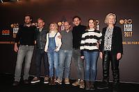 LANNICK GAUTRY, MEDI SADOUN, ANNE MARIVIN, INCONNU, OLIVIER CASAS, BARBARA SCHULZ ET MARIE-CHRISTINE ADAM - 20EME FESTIVAL INTERNATIONAL DU FILM DE COMEDIE DE L'ALPE D'HUEZ 2017