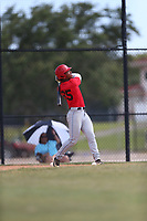 Brandon Fields (65) of Dr. Phillips High School in Orlando, Florida during the Under Armour Baseball Factory National Showcase, Florida, presented by Baseball Factory on June 12, 2018 the Joe DiMaggio Sports Complex in Clearwater, Florida.  (Nathan Ray/Four Seam Images)