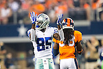 Dallas Cowboys wide receiver Jamar Newsome (85) in action during the pre-season game between the Denver Broncos and the Dallas Cowboys at the AT & T stadium in Arlington, Texas. Denver leads Dallas 10 to 3 at halftime.