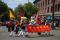 Dragon & Lion Dance Group, Dragon Fest 2015, Chinatown, Seattle, Washington, USA