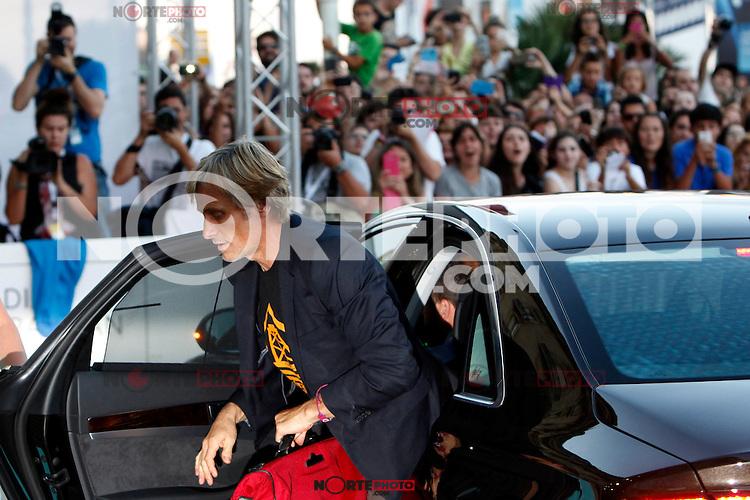 Actor Vigo Mortensen presents the film 'Pasolini' during the 62st San Sebastian Film Festival in San Sebastian, Spain. September 21, 2014. (ALTERPHOTOS/Caro Marin)