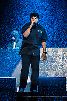 Ice Cube performs at the Festival d'ete de Quebec in Quebec city Saturday July 9, 2016.