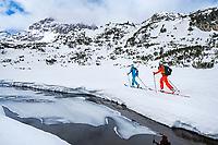 A ski tour through the Pirin Mountains of Bulgaria.