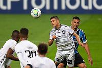 14th October 2020; Arena de Gremio, Porto Alegre, Brazil; Brazilian Serie A, Gremio versus Botafogo; Diego Souza of Gremio wins the header from Kevin of Botafogo