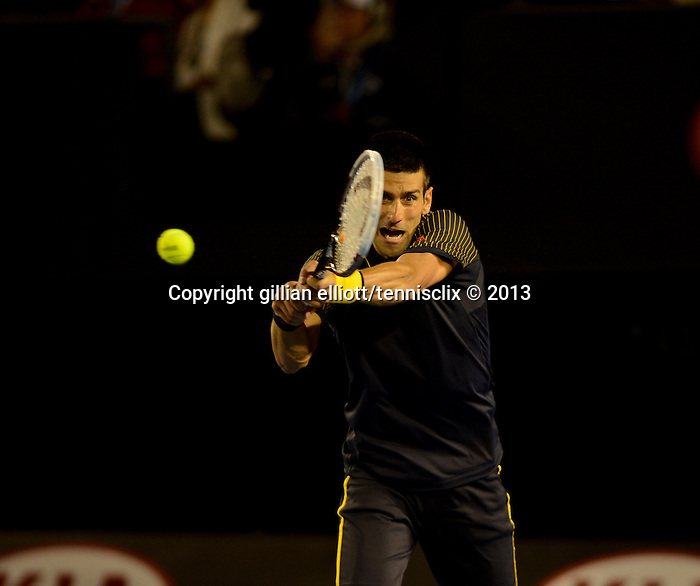 WAWRINKA loses at Australian Open in Melbourne Australia on 20th January 2013
