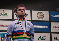 Eli Iserbyt (BEL/Marlux-Bingoal) winning the World Championships title<br /> <br /> Men U23 Race<br /> UCI CX Worlds 2018<br /> Valkenburg - The Netherlands
