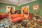 Historic Peter Herdic Inn. Victorian living room.