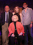Jonathan Tunick, Rebecca Faulkenberry, Barbara Cook & Steve Kazee  performing at the 54 Below in New York City on 4/23/2013...