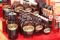 June 2012, Ottawa, Ontario, CANADA -  Maple syrup stand at the By Marke