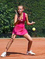 09-08-10, Hillegom, Tennis,  NJK 12 tm 18 jaar, Fleur Eggink