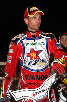 Andreas Jonsson - Lee Richardson Memorial at the Arena Essex Raceway, Pufleet - 28/09/12 - MANDATORY CREDIT: Rob Newell/TGSPHOTO - Self billing applies where appropriate - 0845 094 6026 - contact@tgsphoto.co.uk - NO UNPAID USE.