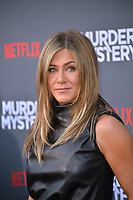 """LOS ANGELES, USA. June 11, 2019: Jennifer Aniston at the premiere of """"Murder Mystery"""" at Regency Village Theatre, Westwood.<br /> Picture: Paul Smith/Featureflash"""