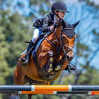 NZL-Rosa Wilkinson rides Double J Yippee. Class 22: MCCALLUM BROS LTD GP Pony Super Series. 2021 NZL-Auckland Veterinary Centre Brookby SJ Grand Prix Show. Papatoetoe, Auckland. Sunday 14 February. Copyright Photo: Libby Law Photography