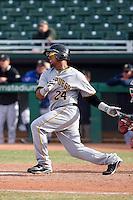 Jose Tabata - Scottsdale Scorpions, 2009 Arizona Fall League.Photo by:  Bill Mitchell/Four Seam Images..