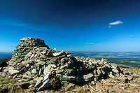The summit of Meall a Bhuachaille, Aviemore, Cairngorm National Park, Highland