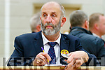 Danny Healy-Rae at the General Election count in Killarney on Sunday.