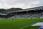 17.10.2020, Schwarzwald Stadion, Freiburg, GER, 1.FBL, SC Freiburg vs SV Werder Bremen<br /> <br /> im Bild / picture shows<br /> <br /> Feature Stadion - Spieler laufen ein<br /> <br /> Foto © nordphoto / Bratic<br /> <br /> DFL REGULATIONS PROHIBIT ANY USE OF PHOTOGRAPHS AS IMAGE SEQUENCES AND/OR QUASI-VIDEO.