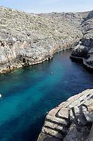 Küste bei der Blue Grotto, Malta, Europa
