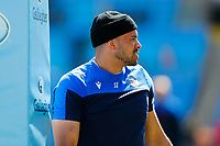 25th April 2021; Ricoh Arena, Coventry, West Midlands, England; English Premiership Rugby, Wasps versus Bath Rugby; Jonathan Joseph of Bath Rugby during the pre-match warm-up