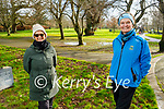 Enjoying a stroll in the Tralee town park on Monday, l to r: Anne O'Sullivan and Nora O'Regan.