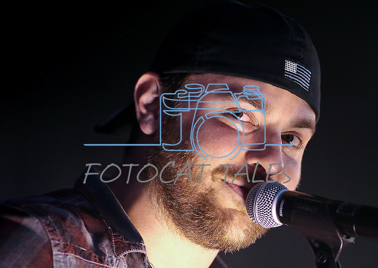 Chris Young performs at the TJ's Corral Outdoor Events Center at the Carson Valley Inn, in Minden, Nev., on Saturday, Aug. 2, 2014.<br /> Photo by Cathleen Allison