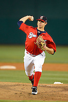 Brevard County Manatees pitcher Mark Williams #36 during a game against the Daytona Cubs at Spacecoast Stadium on April 5, 2013 in Viera, Florida.  Daytona defeated Brevard County 8-0.  (Mike Janes/Four Seam Images)