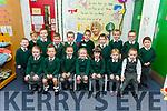 Junior infants in Miss O'Shea class in Firies NS.