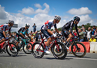 Casper Pedersen (DEN/DSM) & Mads Pedersen (DEN/Trek - Segafredo) riding alongside<br /> <br /> Stage 4 from Redon to Fougères (150km)<br /> 108th Tour de France 2021 (2.UWT)<br /> <br /> ©kramon