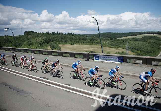 Tour de Wallonie 2015<br /> stage 5: Chimay - Thuin (